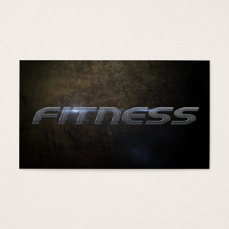 Cartes De Visite Fitness business card