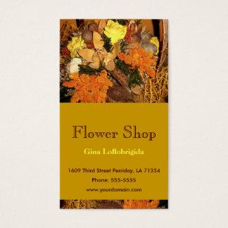 Cartes De Visite Fleuriste