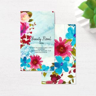 Cartes De Visite Fleuriste de bouquet de fleurs