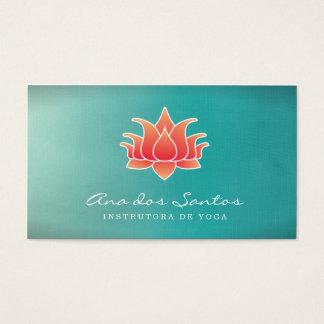Cartes De Visite Flor de Lótus Cartão De Visita