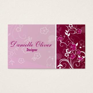 Cartes De Visite Flowers