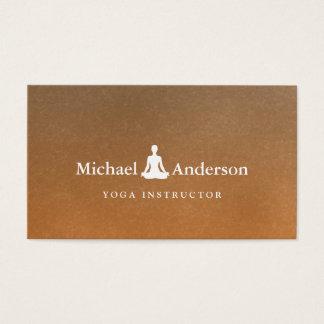 Cartes De Visite Instructeur de yoga