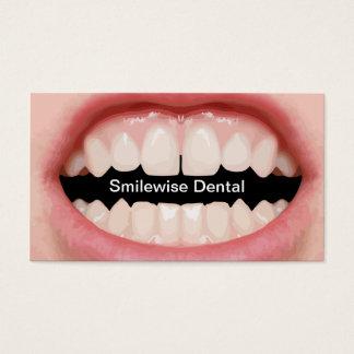 Cartes de visite intelligents de dentiste