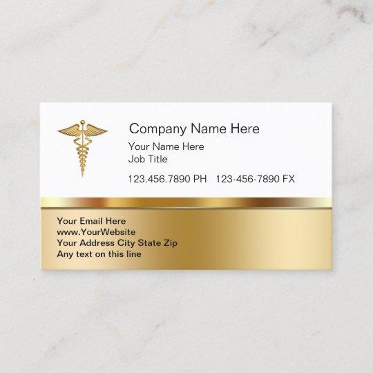 Cartes De Visite Medicale Chics