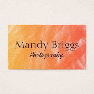 Cartes De Visite Photographie de peinture d'aquarelle de rouge
