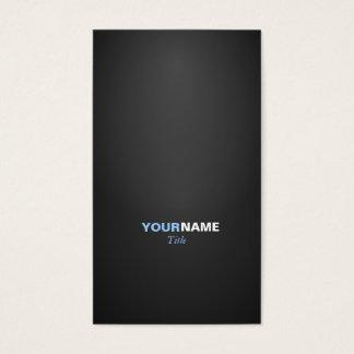 Cartes De Visite Police moderne dans deux couleurs avec 2