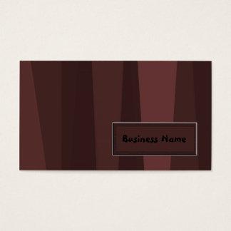 Cartes De Visite Rétros rayures de Brown