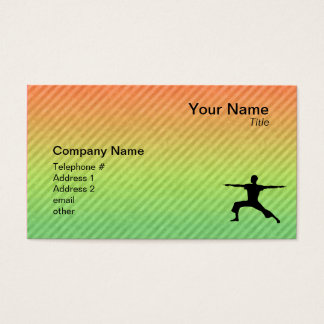 Cartes De Visite Yoga