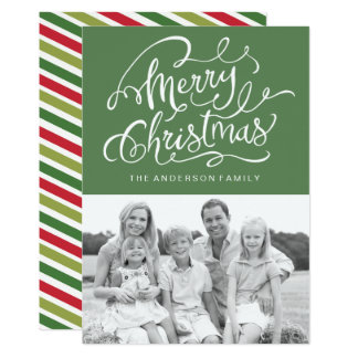 Cartes photos modernes de Noël d'amusement