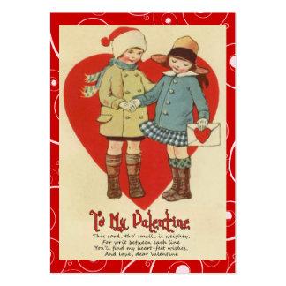 Cartes vintages d'enfant de Valentine Carte De Visite Grand Format