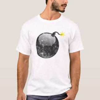 Cartoon-Briefbeschwerer-Art-Bombe T-Shirt