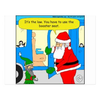 Cartoon des Elfs x84 Zusatzsitz Postkarte