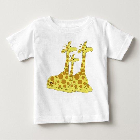 Cartoon-Giraffen Baby T-shirt
