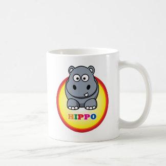 Cartoon_Hippo Kaffeetasse