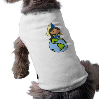 Cartoon-Klipp-Kunst-niedliche Prinzessin auf die T-Shirt