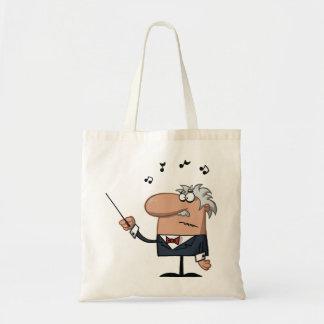 Cartoon-Leiter-Taschen-Tasche Budget Stoffbeutel