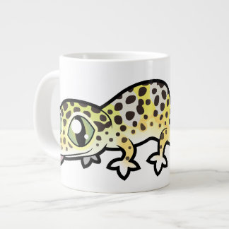 Cartoon-LeopardGecko Jumbo-Tasse