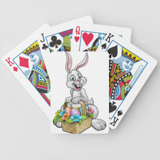 Cartoon-Osterhasen-Ei-Jagd Poker Karten