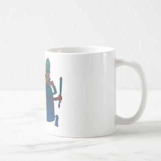 Cartoon-Polizist-Kunst Kaffeetasse