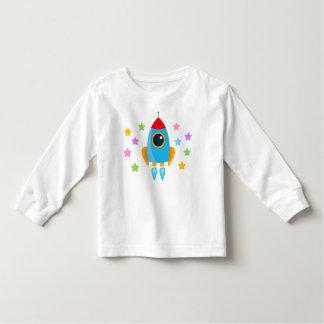 Cartoon Rocket Kleinkinder T-shirt
