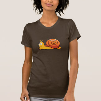 Cartoon-Schnecke-T - Shirt