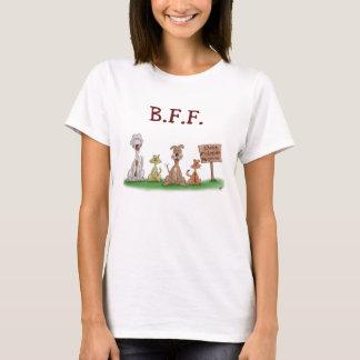 Cartoon-T - Shirts: Beste Freunde für immer T-Shirt