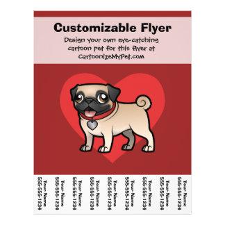 Cartoonize mein Haustier 21,6 X 27,9 Cm Flyer