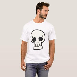 Cartoonschädel-Shirt T-Shirt