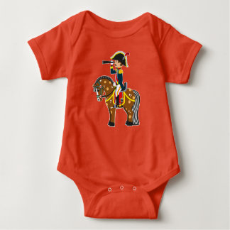 Cartoonsoldat Baby Strampler