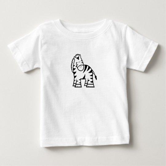 Cartoonzebra-Baby-Jersey-T - Shirt
