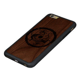 CARVED® WALNUT iPhone 6 PLUS BUMPER HÜLLE