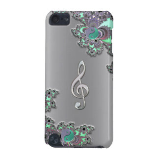 Cas argenté métallique de contact d'iPod de Coque iPod Touch 5G