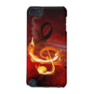 Cas chaud du contact 5G d'iPod de notes de musique