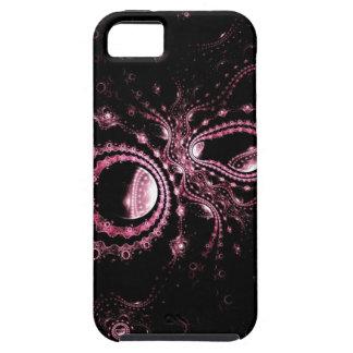 Cas chic de l'iphone 5 de noir et de roses indien coque tough iPhone 5