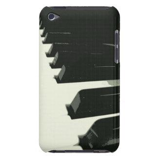 Cas de contact d'iPod de clés de piano Étui Barely There iPod