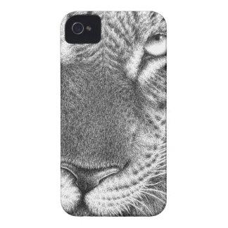 Cas de Coque-Compagnon de léopard Coques Case-Mate iPhone 4