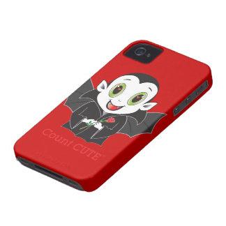 Cas de Cute® Blackberry de compte Coque iPhone 4