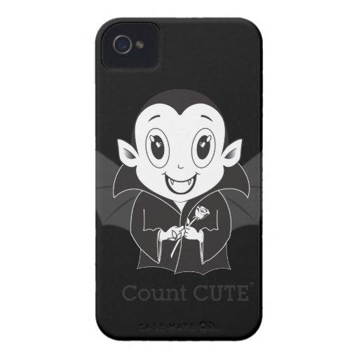 Cas de Cute® Blackberry de compte Coques Case-Mate iPhone 4