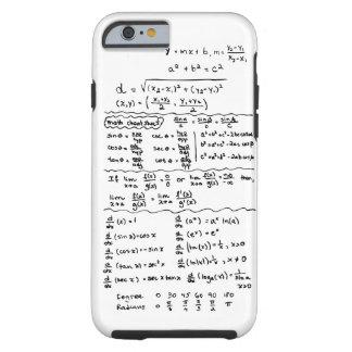 Cas de l'iPhone 6 d'aide-mémoire d'équations de ma Coque iPhone 6 Tough
