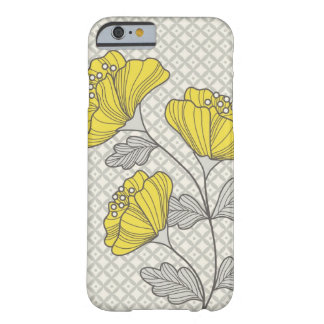 Cas de l'iPhone 6 de fleur Coque iPhone 6 Barely There
