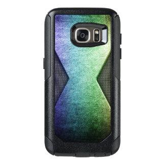 Cas de Samsung de style en métal d'arc-en-ciel Coque OtterBox Samsung Galaxy S7