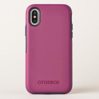 Cas de symétrie de l'iPhone X d'OtterBox Apple
