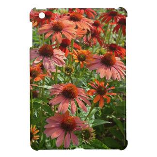 Cas d'Ipad d'impression florale d'echinacée mini Étui iPad Mini