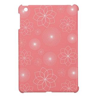 Cas d'iPad d'impression florale mini Coque iPad Mini