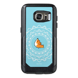 Cas d'Otterbox de corgi de Namaste Coque OtterBox Samsung Galaxy S7