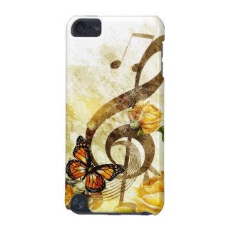 Cas du contact 5G d'iPod de notes de musique de