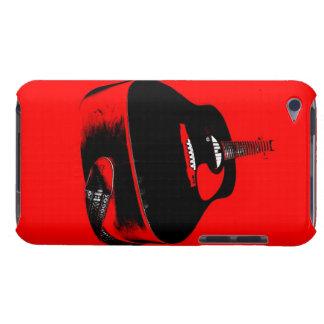 Cas du téléphone du mélomane de joueur de guitare étui iPod touch