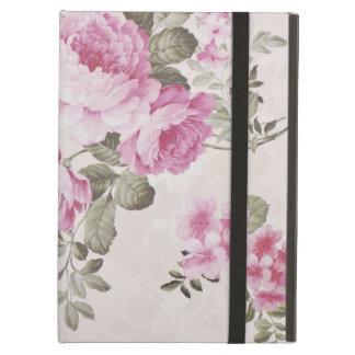 Cas floral vintage élégant