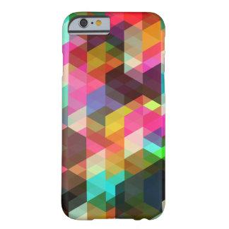 Cas géométrique abstrait de l'iPhone 6