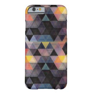 Cas géométrique moderne de l'iPhone 6 de motif Coque Barely There iPhone 6